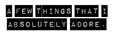 Afewthings