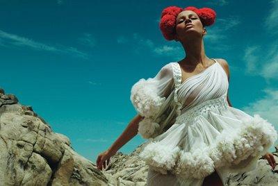 Alexander McQueen silk tulle dress W