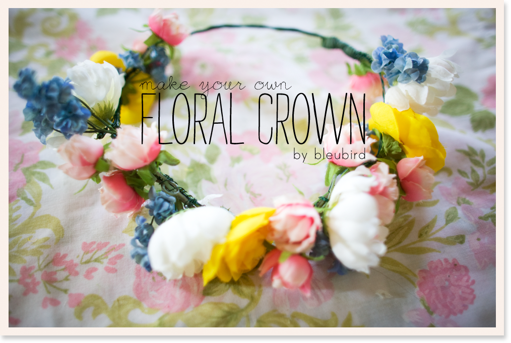 How to Make Your Own Flower Crown You How to Make Your Own