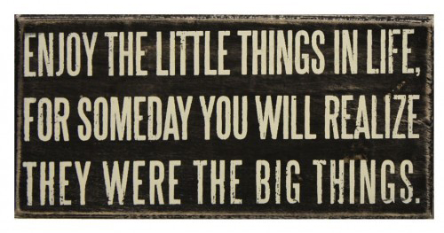 Little-things-plaque